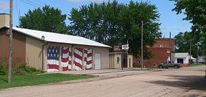 Goehner, Nebraska - Downtown Goehner: May Street