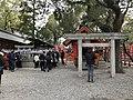 Gosho-Gozen and Wakamiya Hachiman Shrine in Sumiyoshi Grand Shrine.jpg