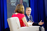 Governor of Florida Jeb Bush 1 at New Hampshire Education Summit The Seventy-Four August 19th, 2015 by Michael Vadon 03.jpg