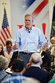 Governor of Florida Jeb Bush at TurboCam, Barrington, NH 1 on August 22th by Michael Vadon.jpg