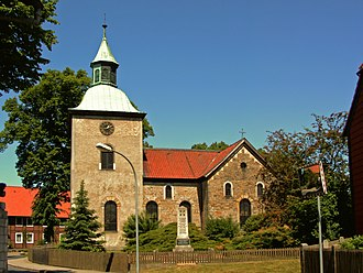 Grafhorst, Germany - The Lutheran church