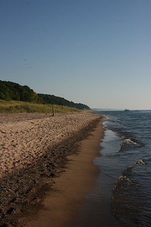 Grand Mere State Park - The beaches at Grand Mere