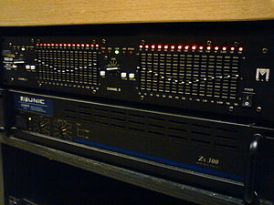 Sound reinforcement system - Graphic equalizer