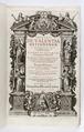 Graverat titelblad till bok om teologi, från 1619 - Skoklosters slott - 93190.tif