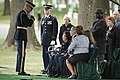 Graveside service for U.S. Army Air Forces 2nd Lt. Marvin B. Rothman at Arlington National Cemetery (34151685641).jpg