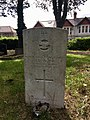 Gravestone of Aircraftman 2nd Class Joseph Doncich of the Royal Air Force Volunteer Reserve at Cathays Cemetery, May 2020.jpg