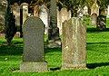 Gravestones, Balmoral Cemetery - geograph.org.uk - 1019825.jpg