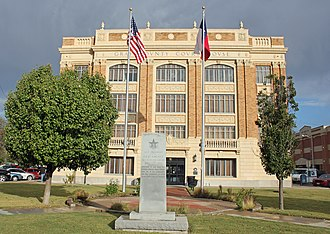 Gray County, Texas - Image: Gray County Courthouse (Pampa, Texas)