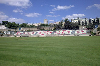 Green Stadium, Nazareth Illit - Image: Green Stadium 01