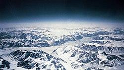 Costa sudeste da Gronelândia.