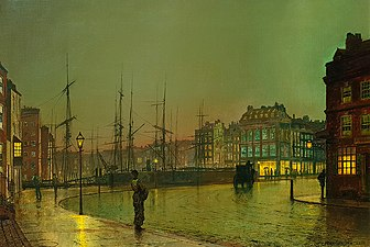 Greenock Shipping by John Atkinson Grimshaw, 1881.jpg