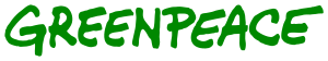Greenpece word mark