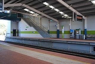 Greenwood railway station