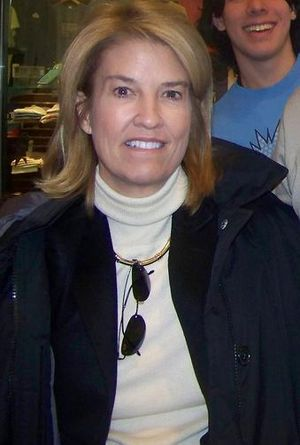 Greta Van Susteren - Van Susteren in Manchester, New Hampshire, January 8, 2008