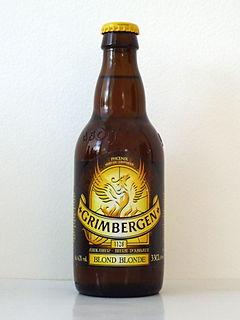Grimbergen (beer) brand name of a variety of Belgian abbey beers