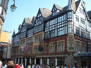 The Chester Grosvenor Hotel - Image: Grosvenor Hotel, Chester