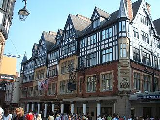 Richard Kyrke Penson - Grosvenor Hotel, Chester