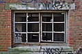 Ground-level window of an abandoned military building in Fort de la Chartreuse, Liege, Belgium (DSCF3465-hdr).jpg