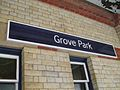 Grove Park stn signage.JPG