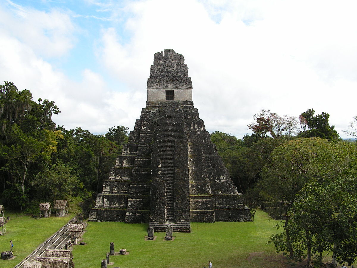 Tikal stad wikipedia for Civilizacion maya arquitectura