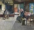 Gustav Wentzel - The retired Farmers, 1888 - NG.M.00347 - National Museum of Art, Architecture and Design.jpg