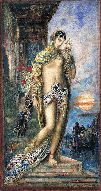 Song of Songs - Song of Songs (Cantique des Cantiques) by Gustave Moreau, 1893