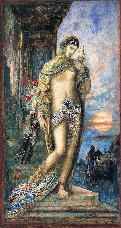 Song of Songs by Gustave Moreau, 1893 (Wikimedia Commons)