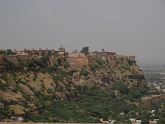 Tomaras of Gwalior - The Gwalior fort