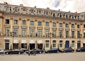 Hôtel Ritz Paris - Image: Hôtel de Crozat