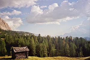 La Val - Image: Hütte Armentara