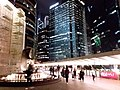 HK 中環 Central night 晚上 Exchange Square 交易廣場 sculture 8 Eight water fountain Oct 2018 SSG 08.jpg