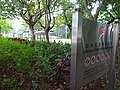 HK 堅尼地城 Kennedy Town 加多近街臨時花園 Cadagan Street Temporary Garden name sign n trees Oct-2015 DSC (1).JPG