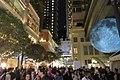 HK 灣仔 Wan Chai 利東街 Lee Tung The Avenue night 月球博物館 big Moon Museum by UK Luke Jerram October 2017 IX1 27.jpg