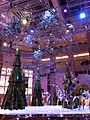 HK Central Landmark Atrium night Xmas tree Nov-2013 002.JPG