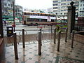HK Kwun Tong Yue Man Square Rest Garden barriers rainy day Bus Terminus Bella Global Beauty.JPG