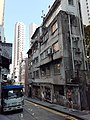 HK ML 半山區 Mid-levels 堅道 Caine Road 依利近街 Elgin Street Thursday morning October 2019 SS2 03.jpg