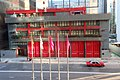 HK WC 灣仔 Wan Chai North 港灣消防局 Kong Wan Fire Station 港灣道14號 Harbour Road flagpoles May 2018 IX2 02.jpg