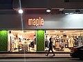 HK WC night Johnston Road shop Maple Fashion Clothing Store July 2021 SS2.jpg
