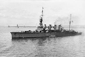 HMS Birmingham (1913) - Image: HMS Birmingham (1913)