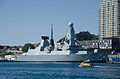 HMS Daring (D32) docked at Barangaroo.jpg