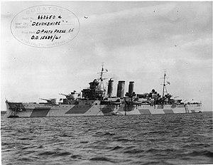HMS Devonshire (39) - Image: HMS Devonshire FL5884