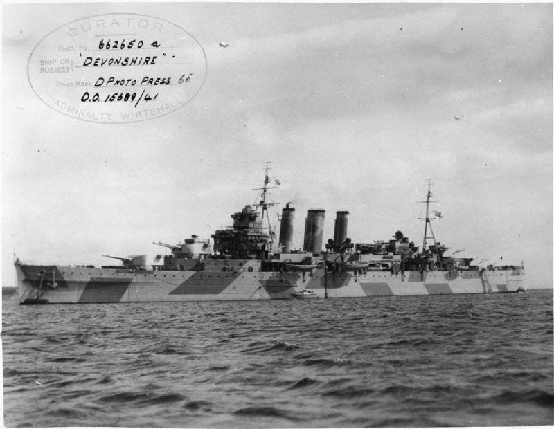 HMS Devonshire FL5884