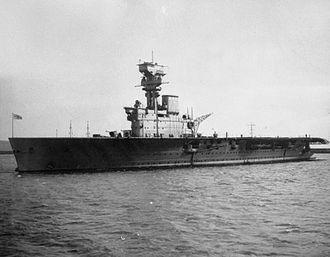 HMS Hermes (95) - Hermes in 1938