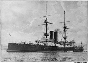 HMS Ocean (1898) - Image: HMS Ocean QE2 66