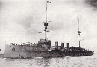 HMS <i>Shannon</i> (1906) Minotaur-class armoured cruiser launched in 1906 and sold in 1922