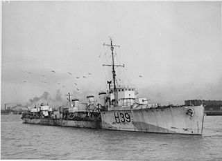 R-class destroyer (1916) class of 62 British destroyers, built 1916–17