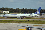 HP-1824CMP Boeing 737-86N Copa Airlines (23565163574).jpg
