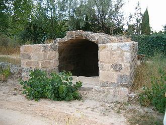 Fuentealbilla - Roman cistern in Fuentealbilla.