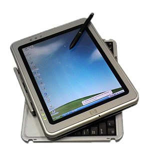 Microsoft Tablet PC - HP Compaq tablet PC with rotating/removable keyboard