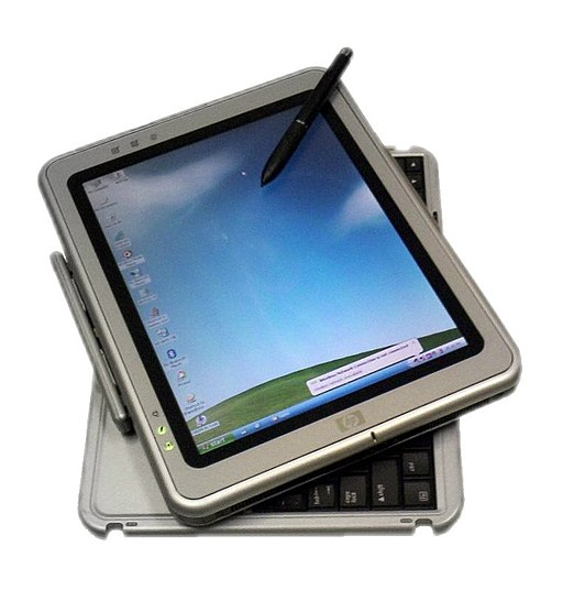 HP Tablet PC running Windows XP (Tablet PC edition) (2006)